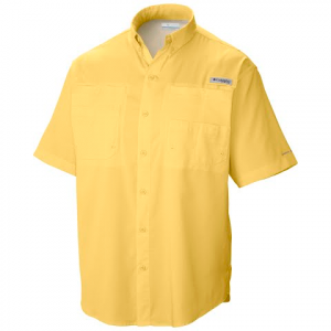 Columbia Men ' S Tamiami Ii Shortsleeve Shirt ( Extended Sizes ) - Sunlit
