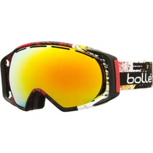 Bolle Men ' S Gravity Goggle - Black / Red / Fire Orange