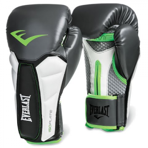 Everlast Prime Training Boxing Gloves - Grey / Green