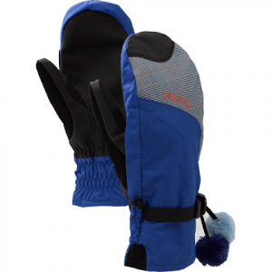 Burton Womens Approach Under Mitten - Blue Prince Of Wales