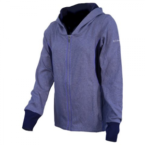 Columbia Women ' S Heather Honey Long Full Zip - Ebony Heather