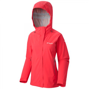 Columbia Women ' S Thunderstrike Jacket - Bright Geranium