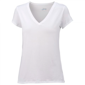 Columbia Womens Greenway Short Sleeve Top - White