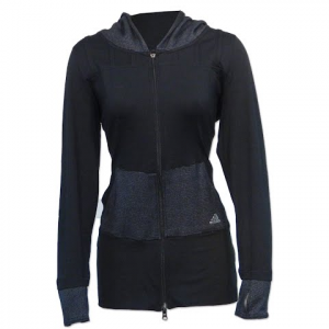 Adidas Women ' S Twist Full Zip Jacket - Black