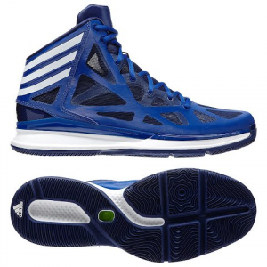 Adidas Men ' S Crazy Shadow 2 Basketball Shoes - Royal / White