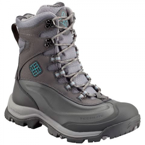 Columbia Women ' S Bugaboot Plus Iii Omni - Heat Winter Boot - Shale / Aqua