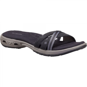 Columbia Women ' S Inagua Vent Slide Sandals - Shark / Light Grey