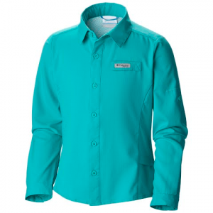 Columbia Girl ' S Youth Tamiami Long Sleeve Shirt - Miami