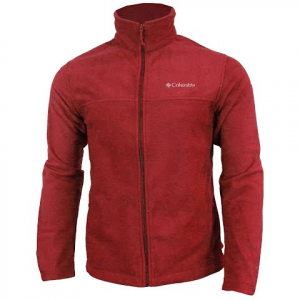Columbia Men ' S Dotswarm Full Zip Jacket - Red Element