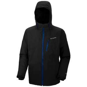 Columbia Men ' S Parallel Grid Jacket - Black / Shark