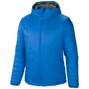 Columbia Men ' S Mighty Light Hooded Jacket - Hyper Blue