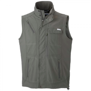 Columbia Mens Silver Ridge Vest - Gravel