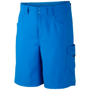 Columbia Men ' S Big Katuna Ii Short - Vivid Blue