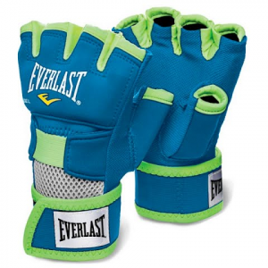 Everlast Evergel Handwraps - Blue / Green