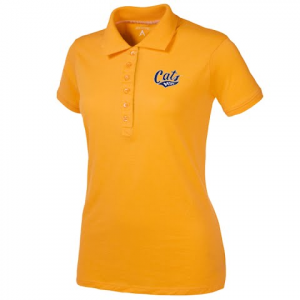 Antigua Women ' S Msu Bobcats Spark S / S Polo - Gold