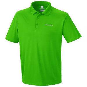 Columbia Men ' S Zero Rules Polo - Cyber Green