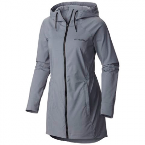Columbia Women ' S Sweet As Long Softshell Jacket - Black Heather