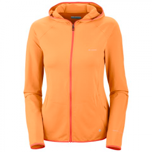 Columbia Women ' S Trail Crush Full Zip Hoodie - Summer Orange