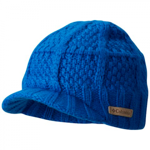 Columbia Youth Adventure Ride Visor Beanie - Super Blue