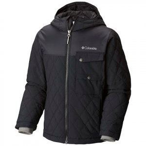 Columbia Boy ' S Youth Lookout Cabin Insulated Jacket - Black