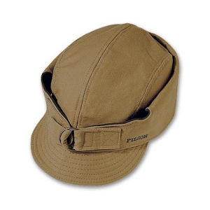 Filson Men ' S Tin Cloth Wildfowl Hat - Tan