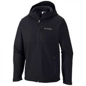 Columbia Men ' S Ascender Hooded Softshell Jacket - Black