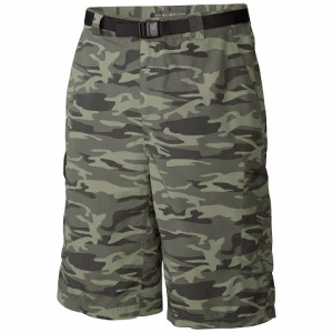 Columbia Mens Silver Ridge Printed Cargo Short - Gravel Camo