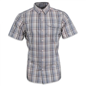 Columbia Men ' S Utilizer Short Sleeve Shirt - Fossil