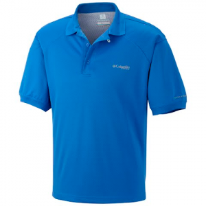 Columbia Men ' S Perfect Zero Polo - Tippet