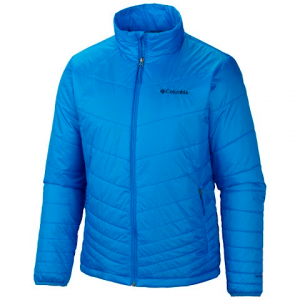 Columbia Men ' S Mighty Light Jacket - Hyper Blue