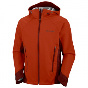 Columbia Mens Omni - Heat Triteca Softshell - Sanguine