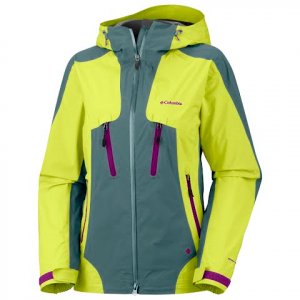 Columbia Women ' S Compounder Shell Jacket - Chartreuse