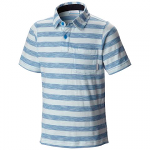 Columbia Boy ' S Youth Lookout Point Polo Shirt - Pacific Blue