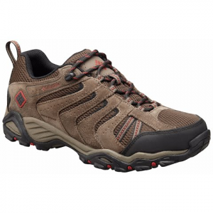 Columbia Men ' S North Plains Ii Waterproof Leather Low Top Trail Hiking Shoes - Cordovan Gypsy