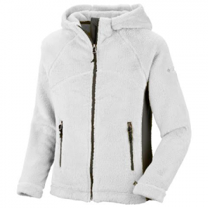 Columbia Girl ' S Youth Pearl Plush Hoodie - Sea Salt