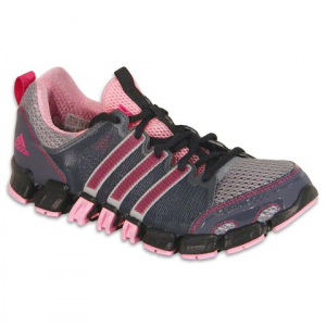 Adidas Youth Clima Ride Tr Running Shoes - Light Grey / Pink