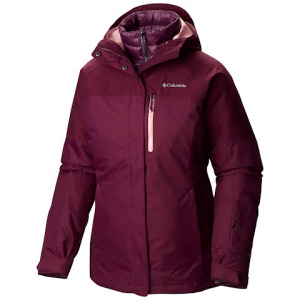 Columbia Women ' S In Bounds 650 Turbodown Interchange 3 - In - 1 Jacket - 562purpledahlia