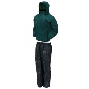 Frogg Toggs All Sport Rainsuit - Green / Black