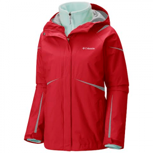 Columbia Women ' S Blazing Star Interchange Jacket - Red Camellia