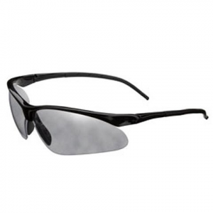 Champion Half Frame Flex Wire Ballistic Shooting Glasses ( Smoke Mirror )