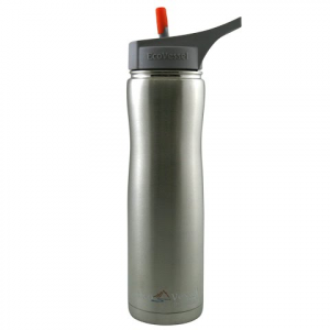 Eco Vessel Summit Insulated 24oz Bottle - Silver Express