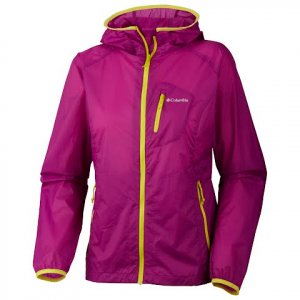 Columbia Women ' S See The Light Ii Translucent Jacket - Berry Jam