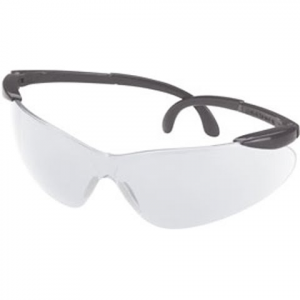 Champion Open Frame Ballistic Shooting Glasses ( Black / Clear ) - Grey / Clear
