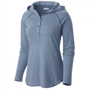 Columbia Women ' S Trail Shaker Hoodie - Bluebell Heather