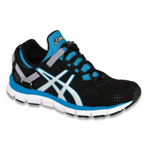 Asics Women ' S Gel Synthesis Running Shoe - Black / Island Blue