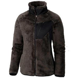 Columbia Women ' S Double Plush Sporty Fleece Jacket - Coal