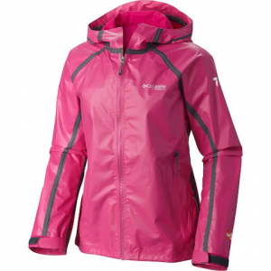 Columbia Women ' S Outdry Ex Gold Shell Jacket - Haute Pink