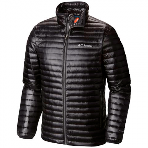 Columbia Men ' S Platinum Plus 740 Turbodown Jacket - Black