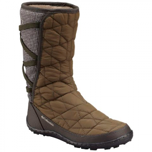 Columbia Women ' S Mid Slip Omni - Heat Tweed Winter Boot - Nori / Silver Sage