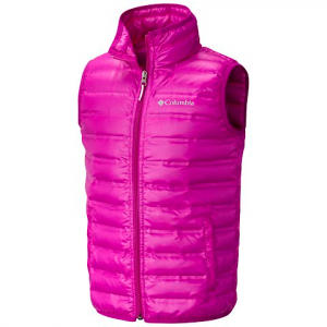 Columbia Youth Flash Forward Down Vest - Bright Plum
